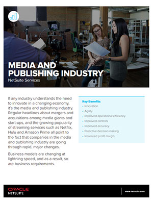 NetSuite Services: Media and Publishing
