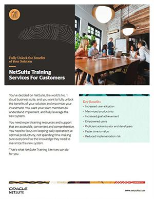 NetSuite Training